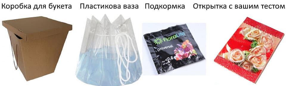 Упаковка для готового букета